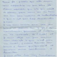 Lettre de Elisabeth Hatt